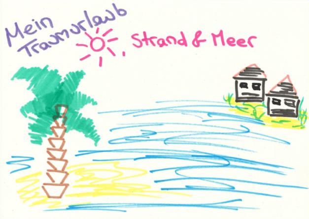 Nadines Traumurlaub am Meer und unter Palmen