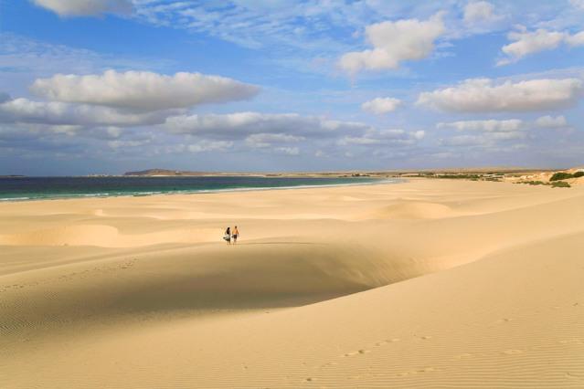 So sehen Traumstrände aus - Kapverdische Inseln.
