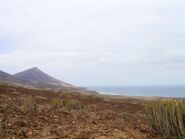 Blick von der Halbinsel Jandía