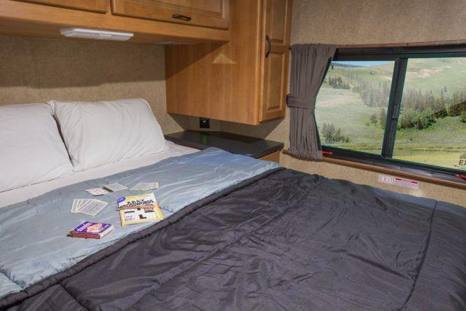 Im Camper-Urlaub müsst ihr beim Schlafkomfort keine Abstriche machen.