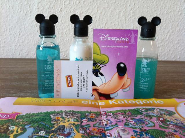 Mein Ticket zum Glück und Shampoo-Flaschen mit Mausohren - hier ist alles möglich