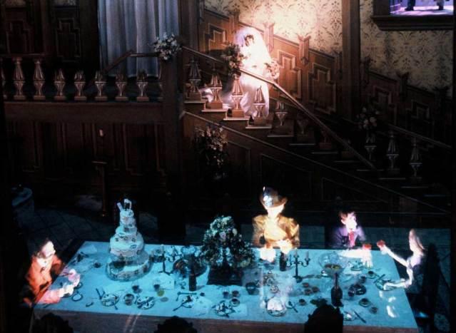 Im Phantom Manor werden Besucher Zeuge einer unheilvollen Geisterhochzeit