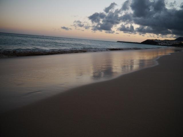 Ein Strandspaziergang lohnt sich