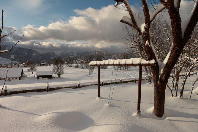 Steiermark im Winter Schnee
