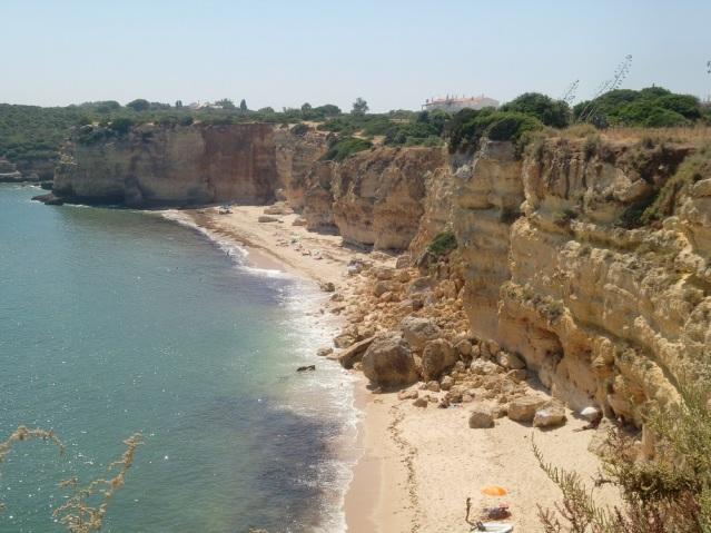 Typische Strandaufnahme