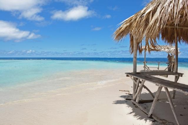 Strandblick in der Dominikanischen Republik