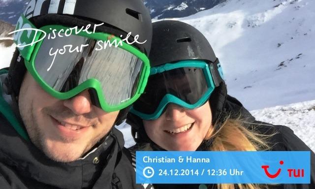 Skifahren zur Urlaubszeit