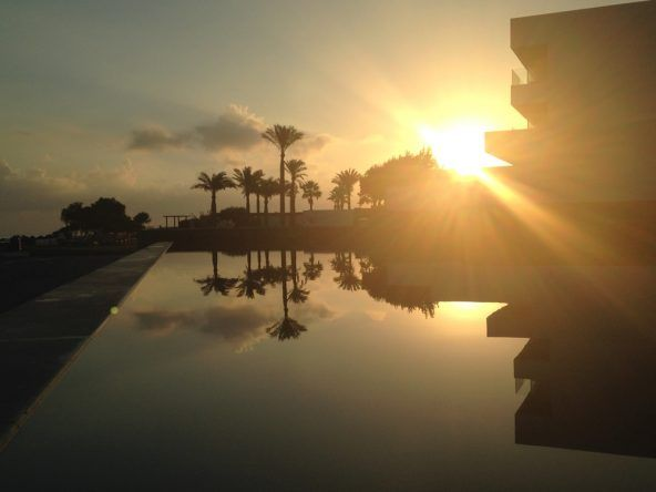 Sonnenaufgang Grecotel Amirandes