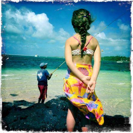 Mauritius Strandimpressionen