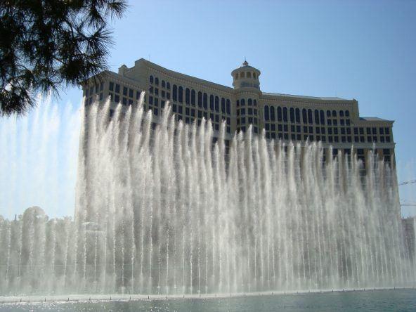 Wasserspiele vor dem berühmten Bellagio
