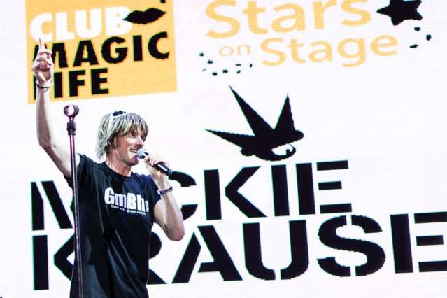 Mickie Krause begeistert Urlauber am 4. Februar 2015 im CLUB MAGIC LIFE auf Fuerteventura