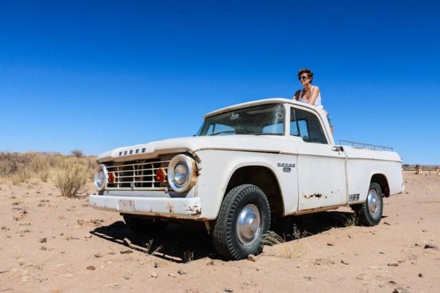 Oldtimer Desert Namibia
