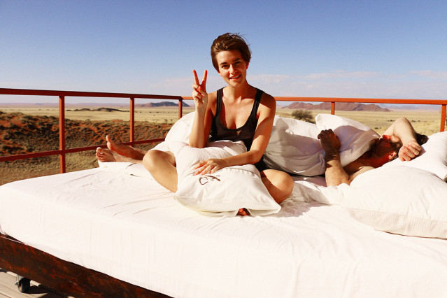 Open Air Bed Namibia