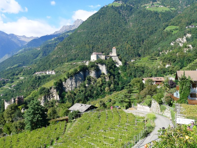 Die Festung Dorf Tirol