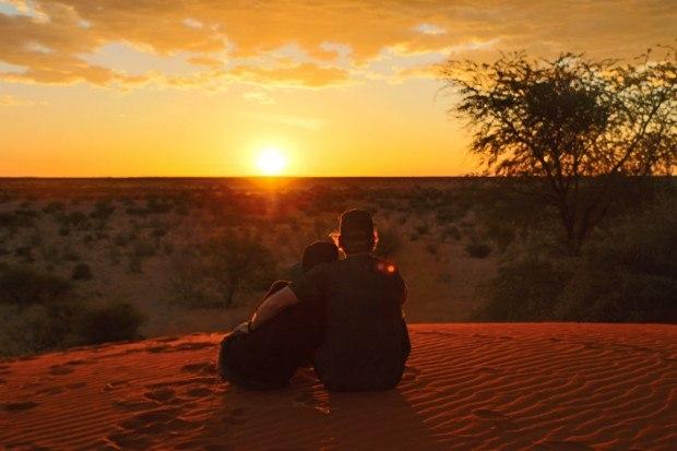 Sundowner Namibia Kalahari Desert