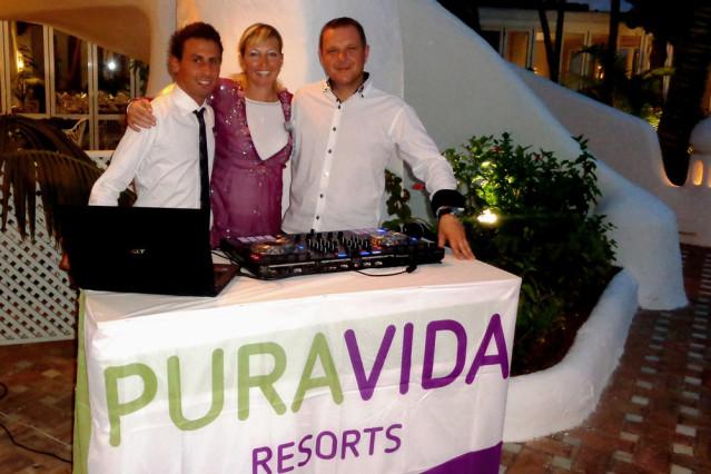 Begrüßung Taste Experience PURAVIDA Jardin Tropical