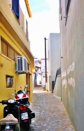 Straße Elounda