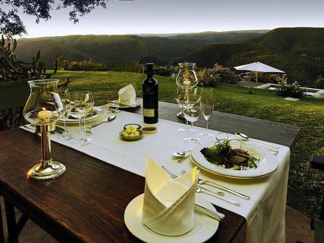 Dinner im Camp Fig Tree