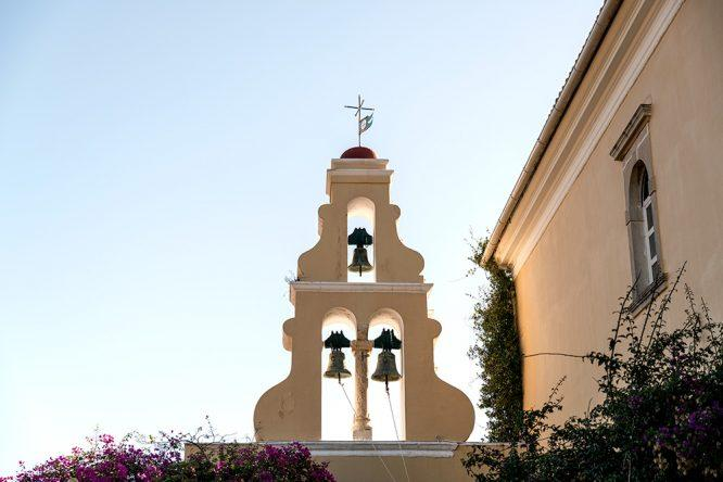 Kloster Paleokastritsa Glockenturm