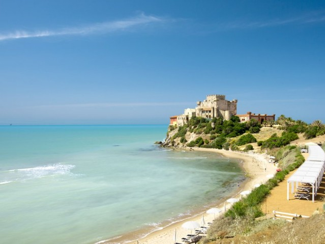 Karibisches Flair an den Stränden Italiens auf Sizilien