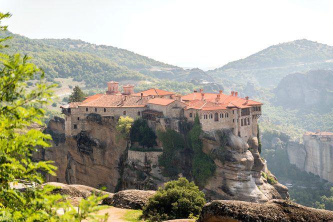 Die Grüne Insel Korfu Teil III: Ausflug auf's Festland – die Meteora Klöster