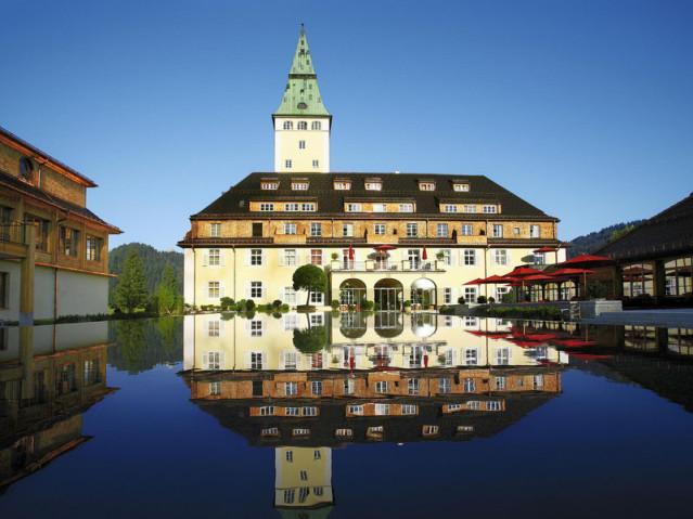 Schloss Elmau von außen