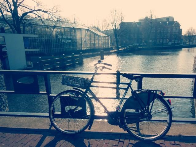 Fahrrad fahren in Holland