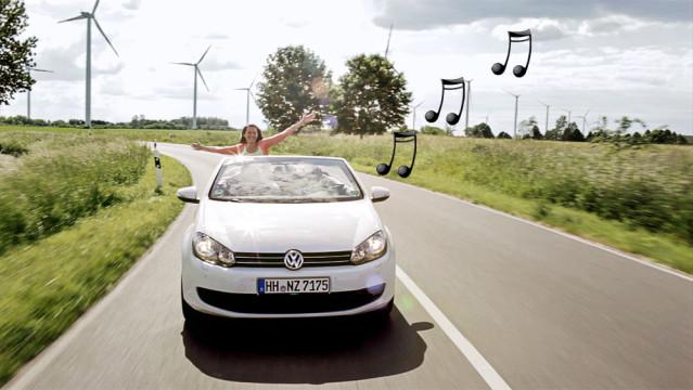 Lieblingsmusik im Mietwagen