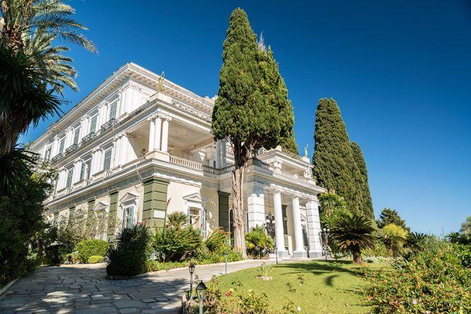 Sissi Palast Korfu