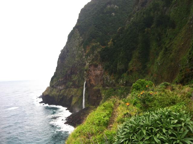 Brautschleierwasserfall Madeira