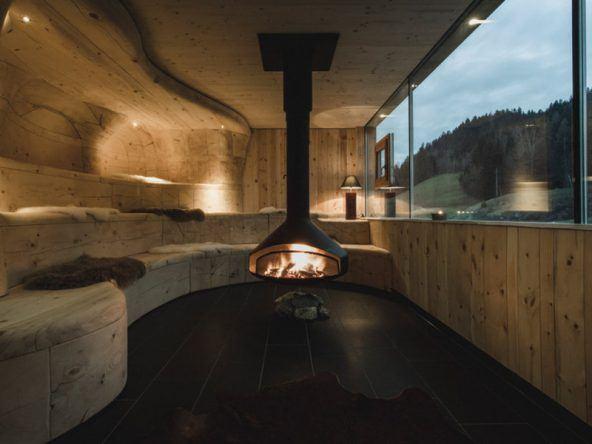 Sauna-Bereich im mama thresl