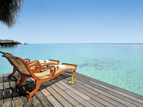 Schnorchel- und Tauchparadies Kuramathi im Rasdhoo Atoll