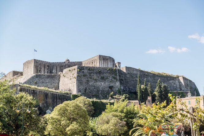 Neue Festung Korfu