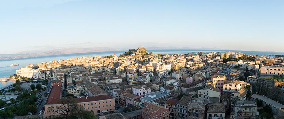 Korfu-Stadt – La dolce Vita in Griechenland