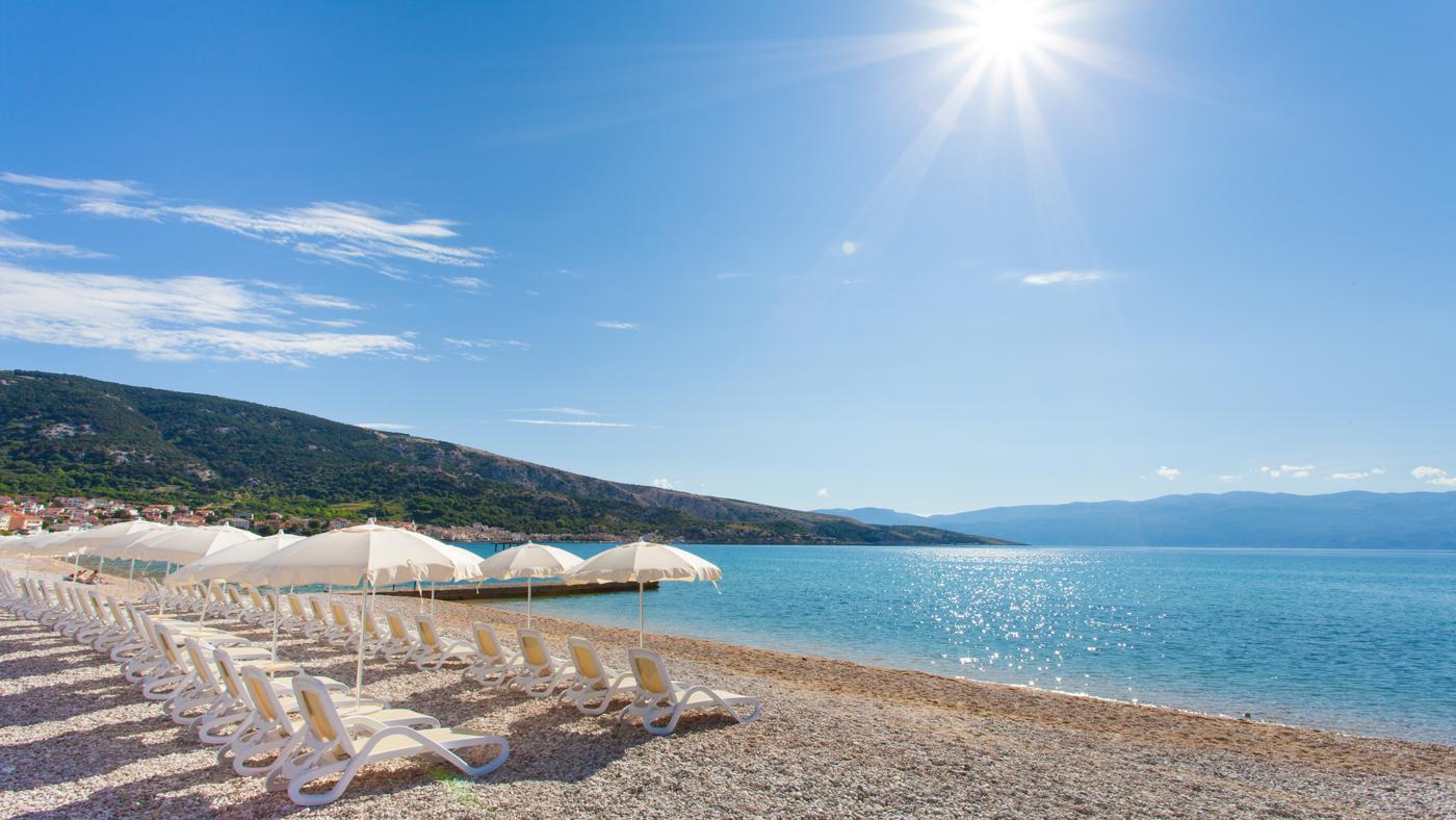 Die Naturschönheit Vela Plaža