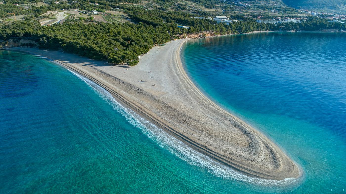 Zlatni Rat - Der schöne Strand auf der Insel Brač