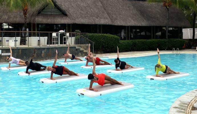 Genauso wie die neuen, trendigen Aqua Balance Kurse.
