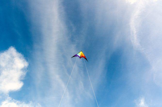 Fliegender Drache St. Peter Ording