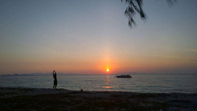 Sonnenaufgang Thailand