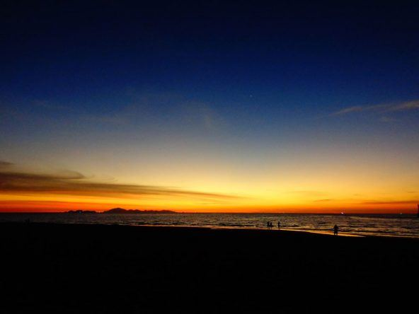 Sonnenuntergang Andamanensee