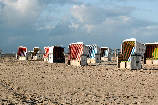 Strandkörbe St. Peter Ording