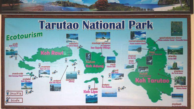 Tarutao Inseln und Koh Lipe