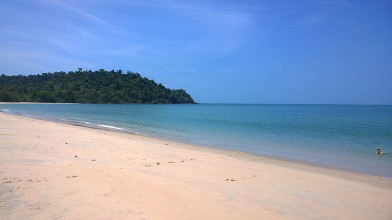 Thailand einsamer Strand