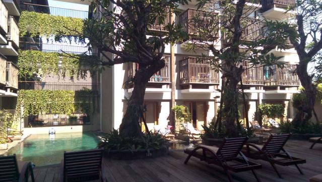Oasis Lagoon Hotel Bali