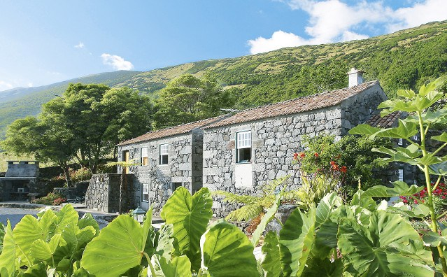 Ferienhaus Azoren Vulkangestein