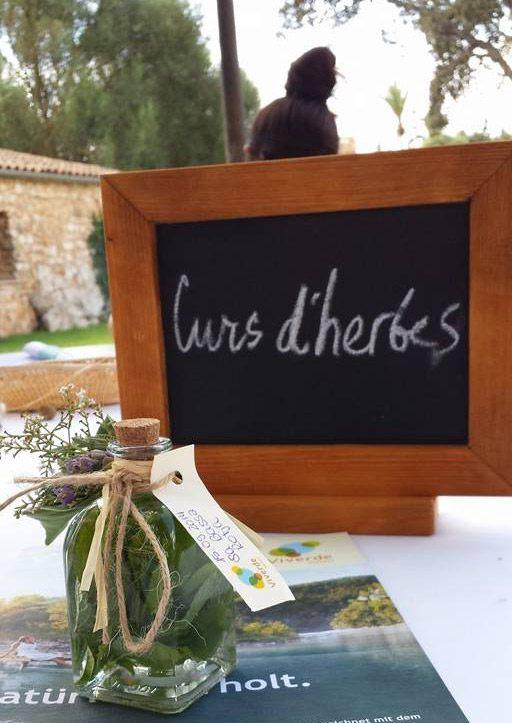Schild Curs d'herbes