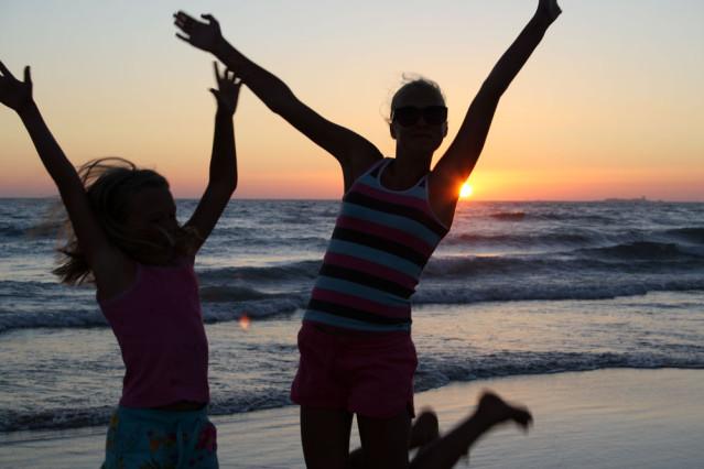 Kinder Strand Andalusien Spanien