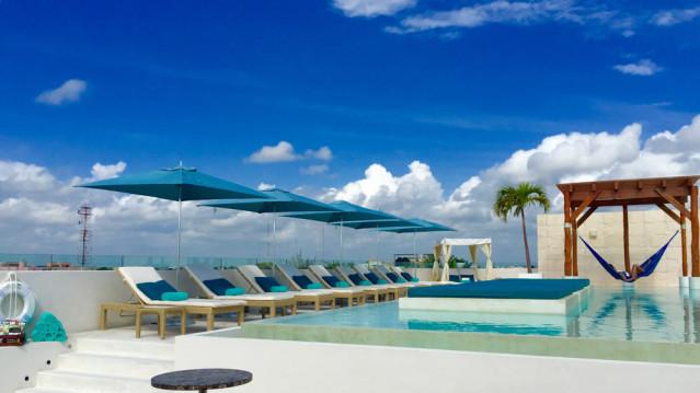 Rooftopbar The Palm at Playa