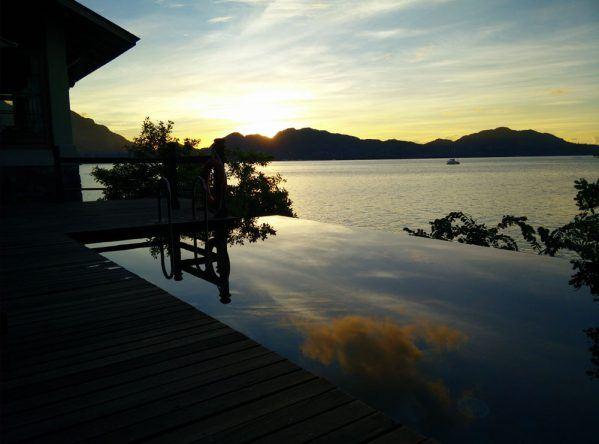 Ein unvergesslicher Sommerurlaub mit dem Baby am Meer erlebt Philipp auf den Seychellen