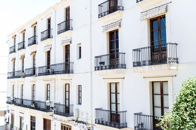 Dalt Vila Eivissa Häuser